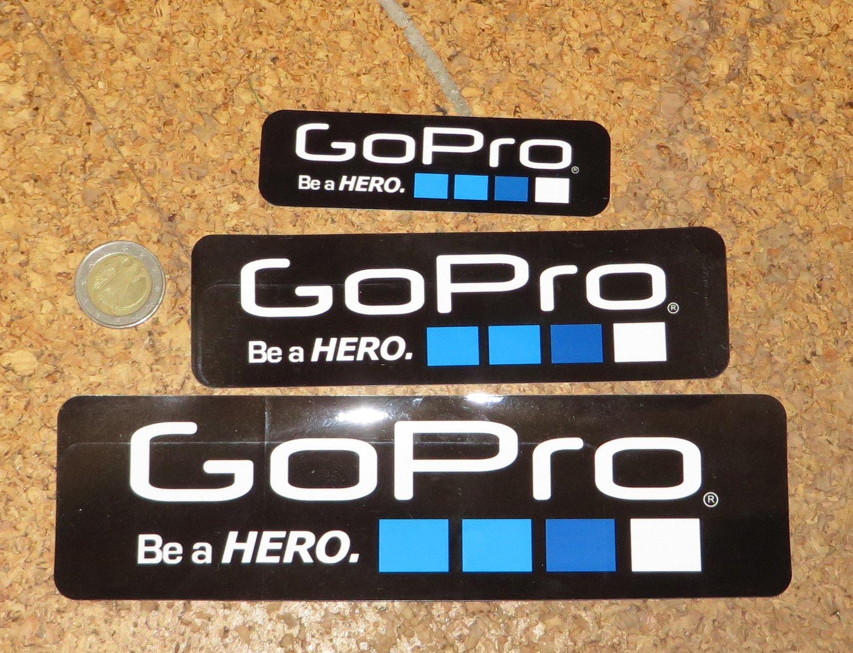 Darmowe naklejki GoPro (6 sztuk)