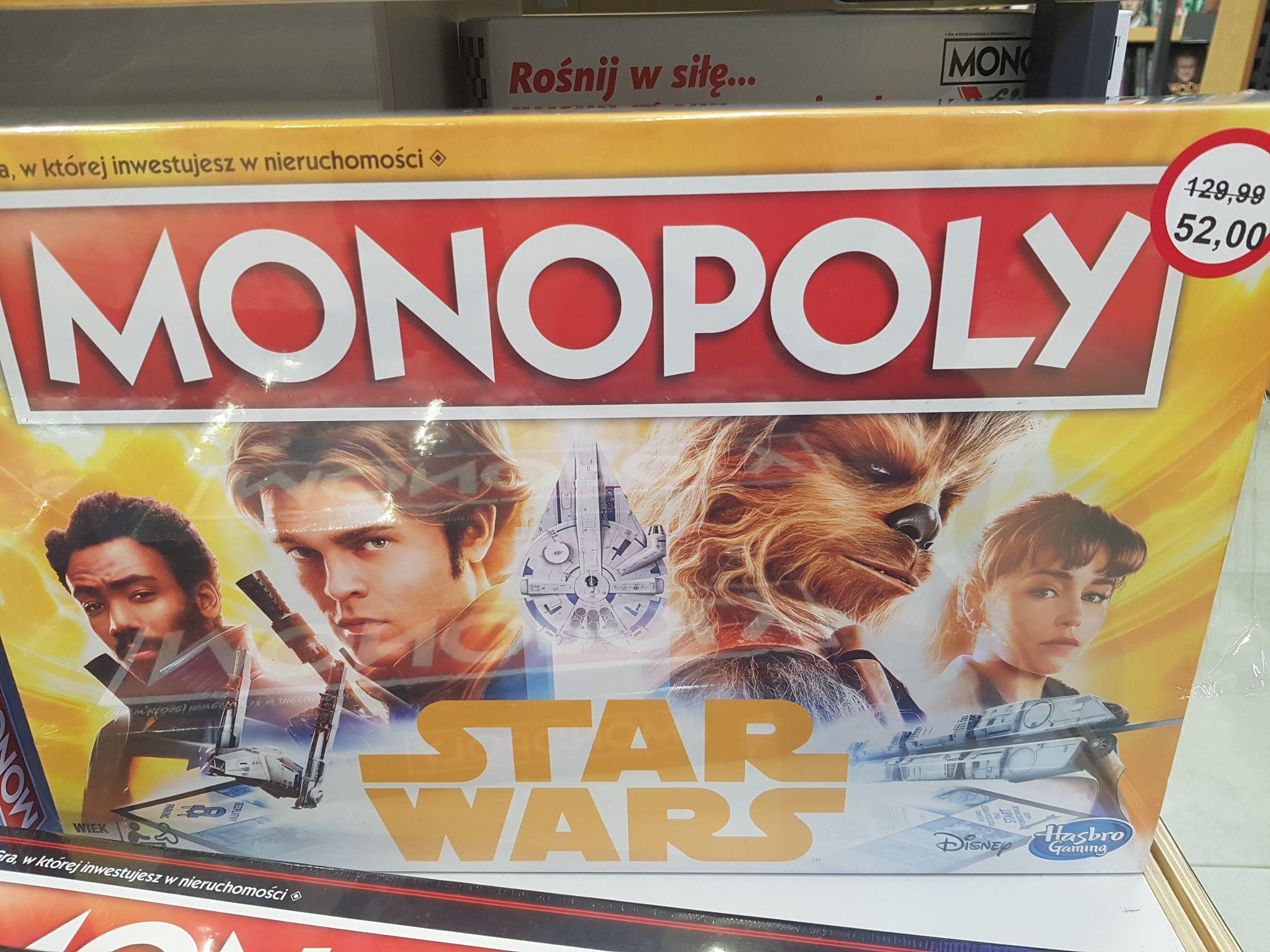 Gra planszowa Monopoly - STAR WARS - Empik