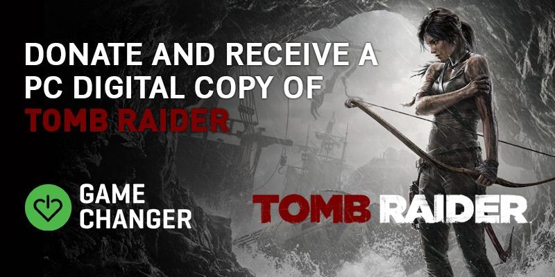 Tomb Raider z 2013 za dotację o wartości 1$ @GameChanger