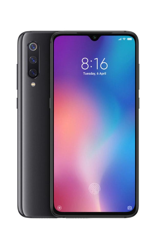Xiaomi Mi9 6/64 czarny 309.99$!!!
