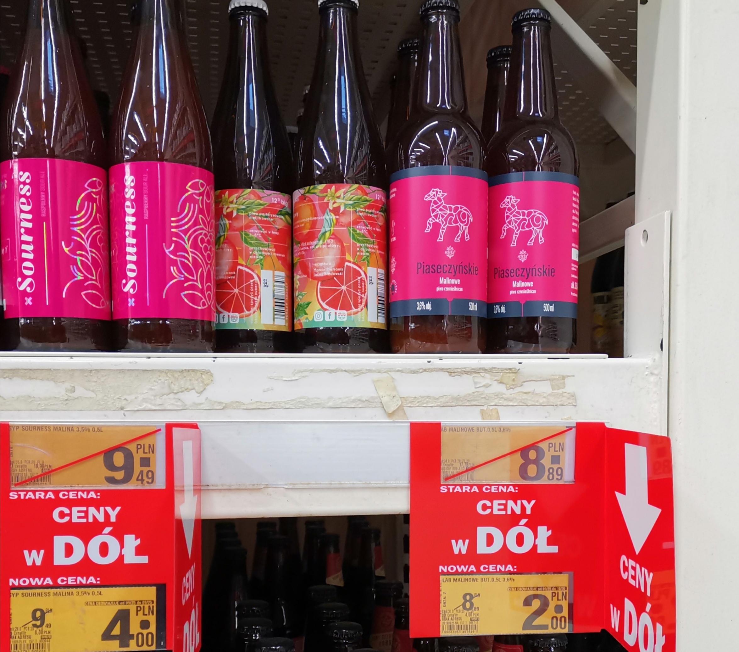 Wyprzedaż piw Auchan Gdańsk Szczęśliwa