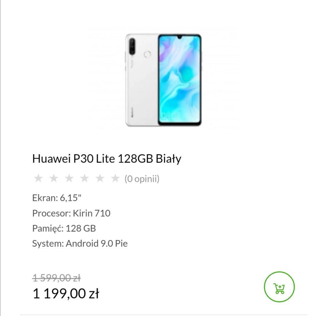 Jesień w X-Kom, m.in. Huawei P30 Lite biały w X-KOM