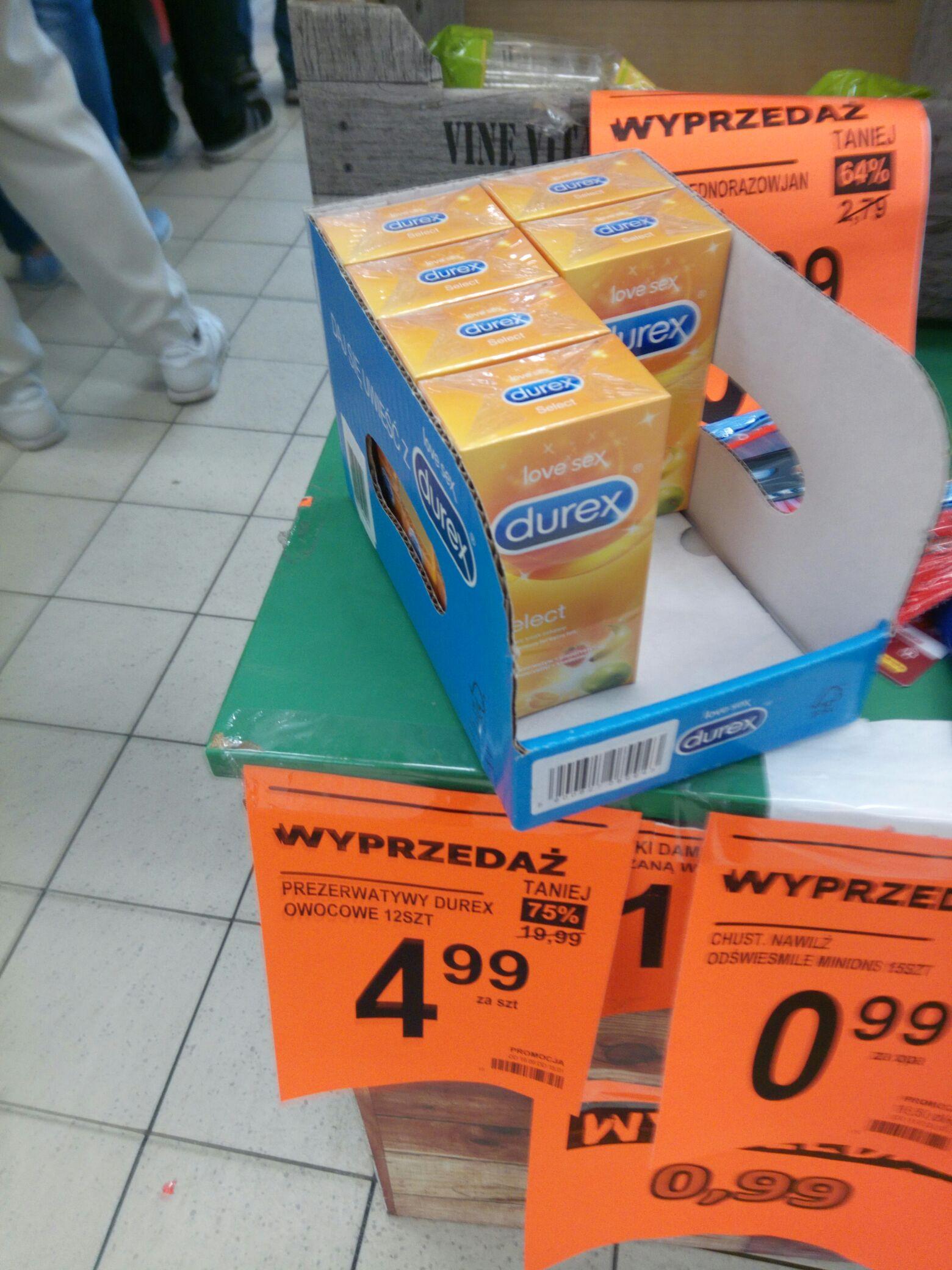 Prezerwatywy Durex owocowe 12 szt