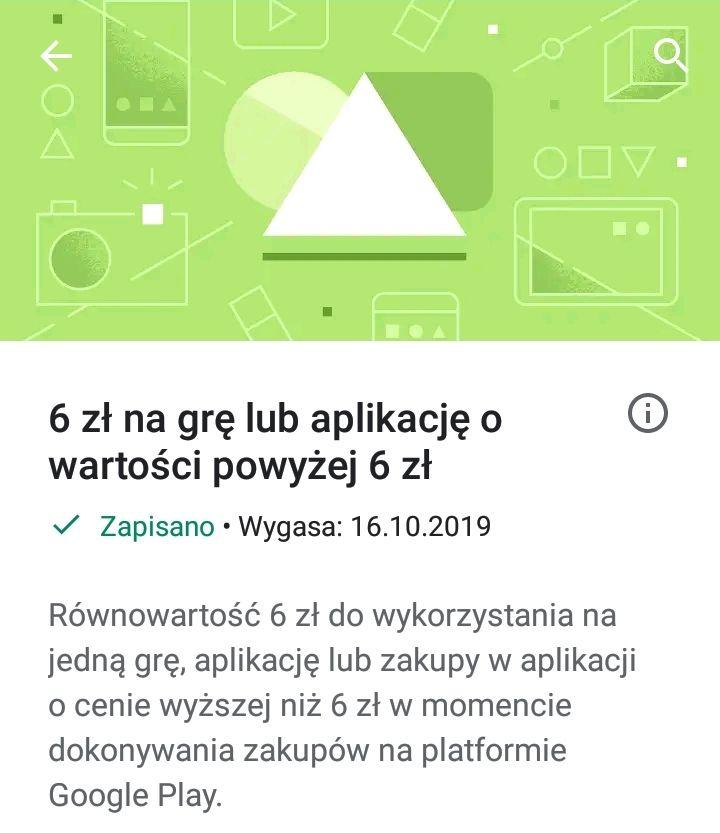 6 zł na gry w Sklep Play