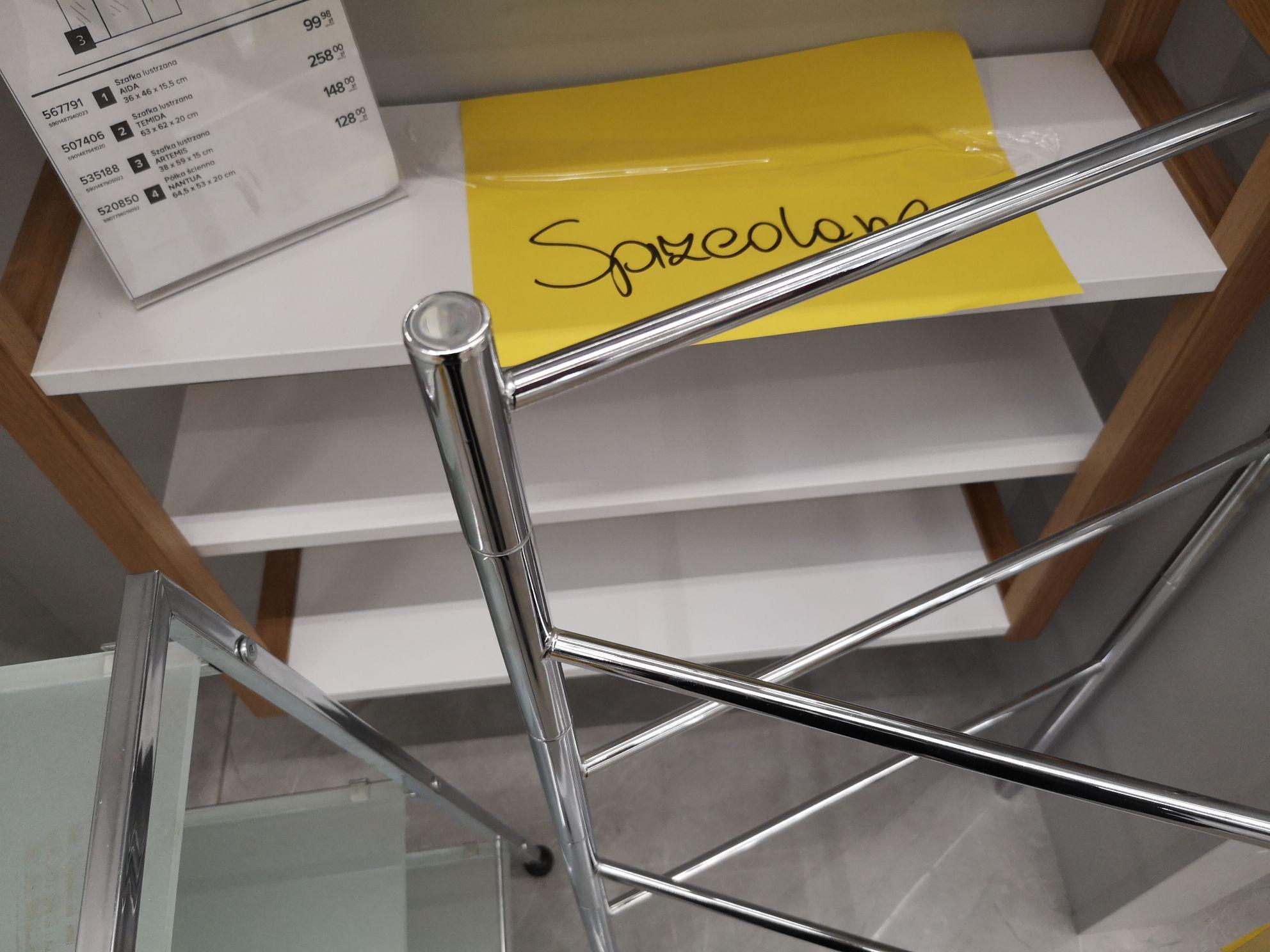 Castorama Jelenia Góra 50% rabatu na meble łazienkowe, kuchenne, brodziki i kabiny z ekspozycji