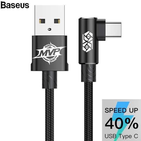 Kabel Baseus MVP USB C 0,5m czerwony