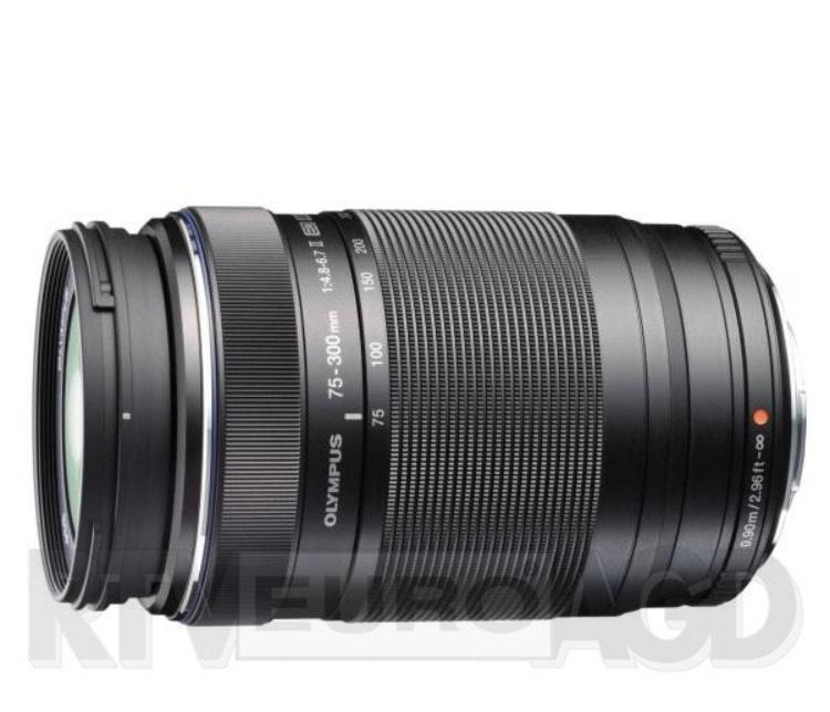 Olympus M.ZUIKO ED 75-300mm f/4.8-6.7 (czarny)