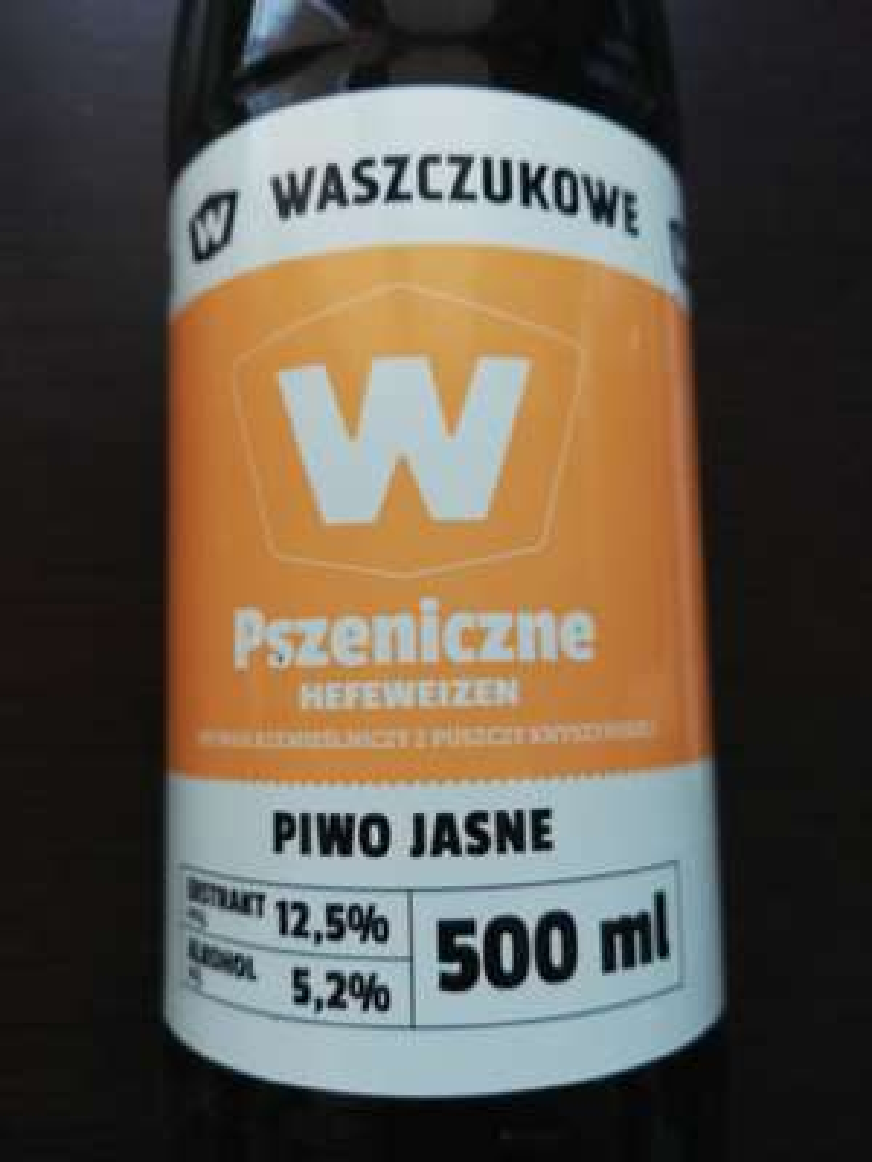 Piwo pszeniczne Klasyka Waszczuków - Biedronka