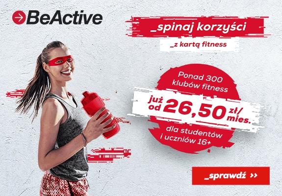 Karnet be active 3 + 3 miesiące gratis