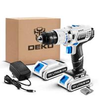 Wiertarko-wkrętarka DEKO GCD18DU3 18V  2xakumulator  50Nm