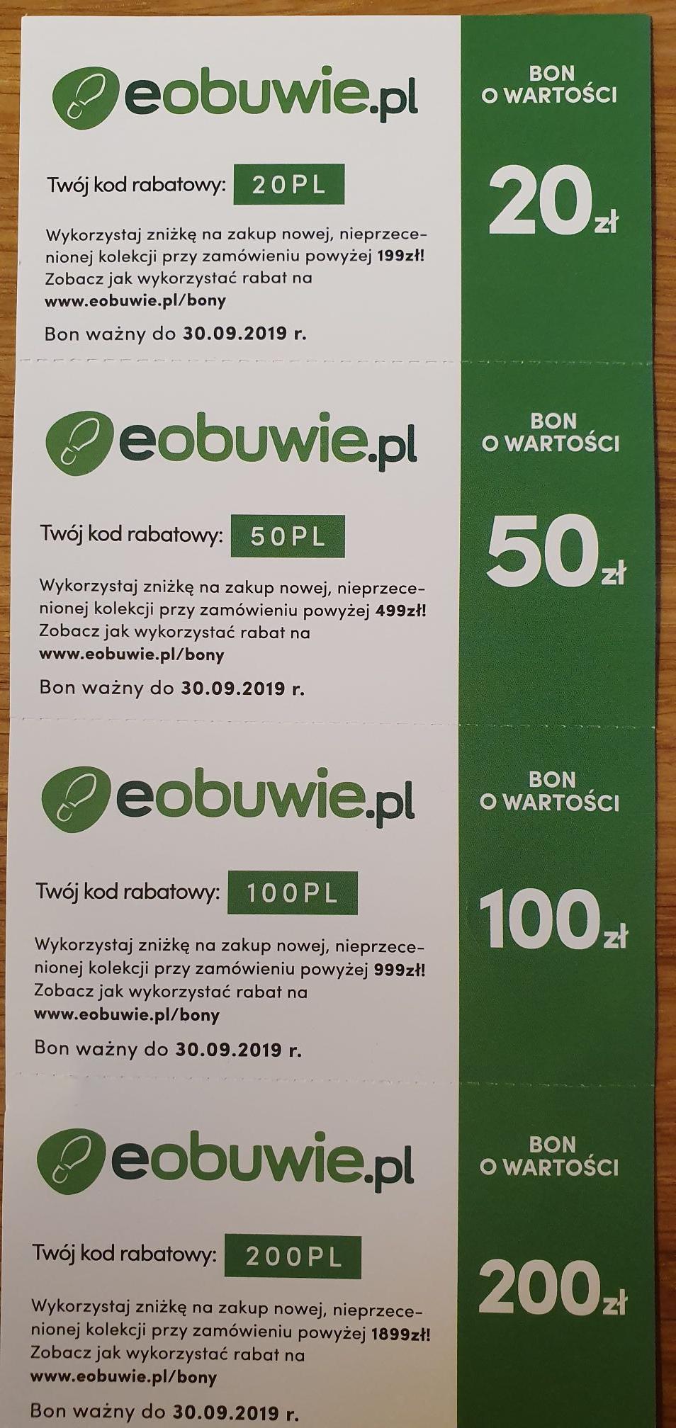 eobuwie.pl rabat 20ZL-200ZL