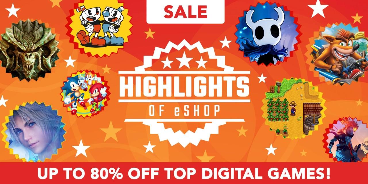 Wyprzedaż w Nintendo eShop – do 80% rabatu na ponad 150 tytułów