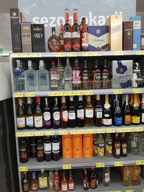 Przecena alkoholu w Stokrotka tu z Osiedle Rusa Poznań  lecz w innych też są przeceny