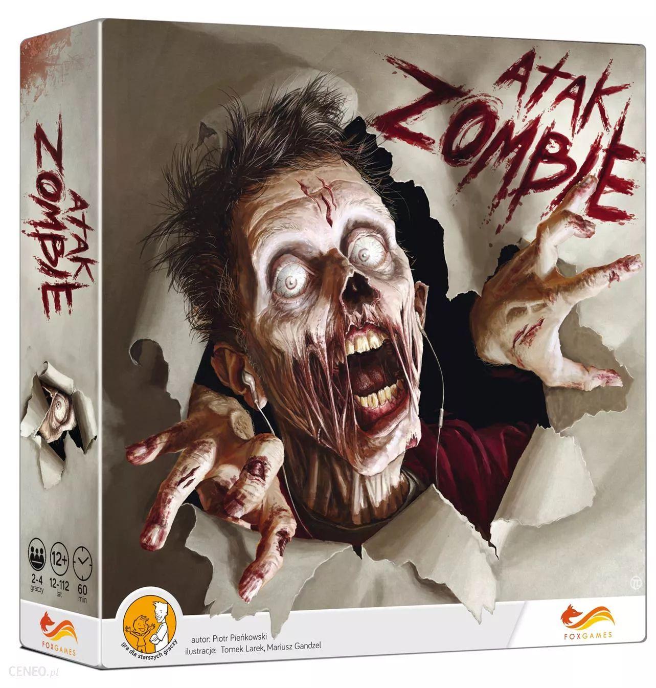 Gra planszowa Atak zombie