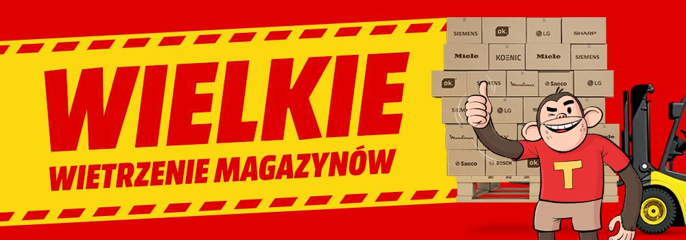 Wielkie wietrzenie magazynów MEDIA MARKT