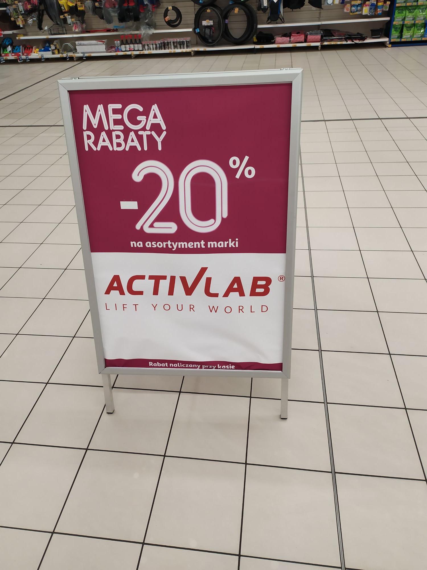 -20% ActivLab w Auchan.