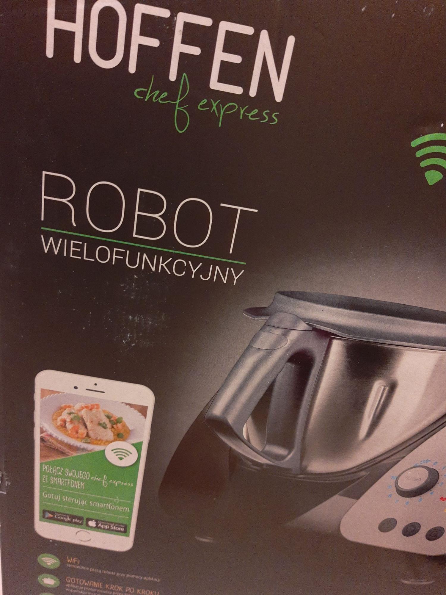Robot Hoffen z Wi-Fi w Biedronce  Inowrocław podobne funkcje co Thermomix