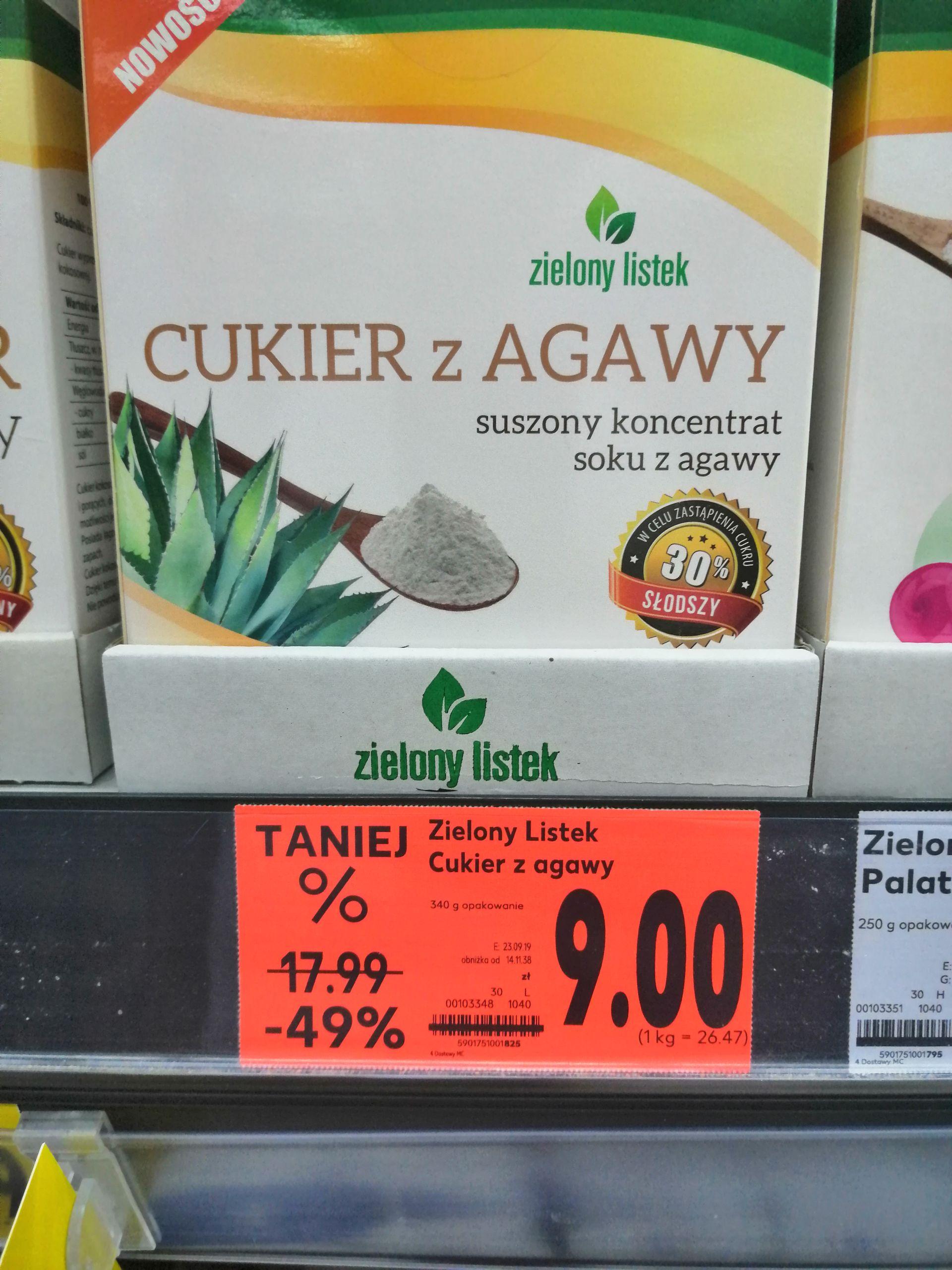 Cukier z Agawy Kaufland