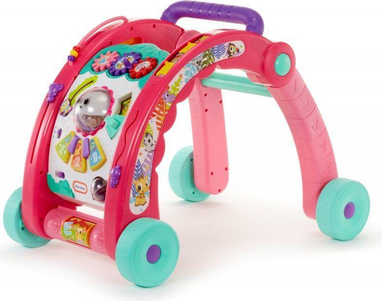 Pchacz dziecięcy ze stolikiem aktywności i projektorem LITTLE TIKES 3w1 różowy model 643095, odbiór od 0 zł