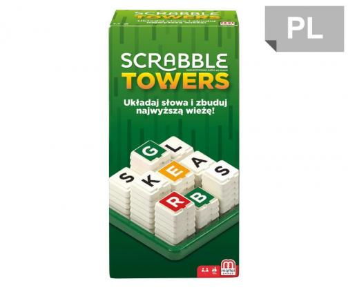 Scrabble Mattel Towers gra planszowa ( Studenckie okazje do 61% w al.to )