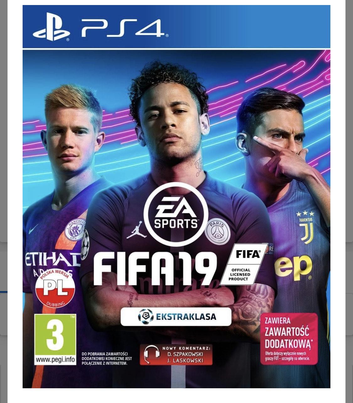 FIFA 19 PS4 media markt