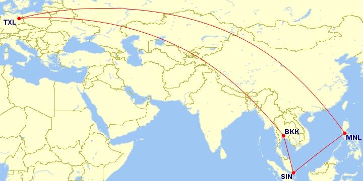 #Multicity [Tajlandia + Singapur + Filipiny] Loty z Berlina