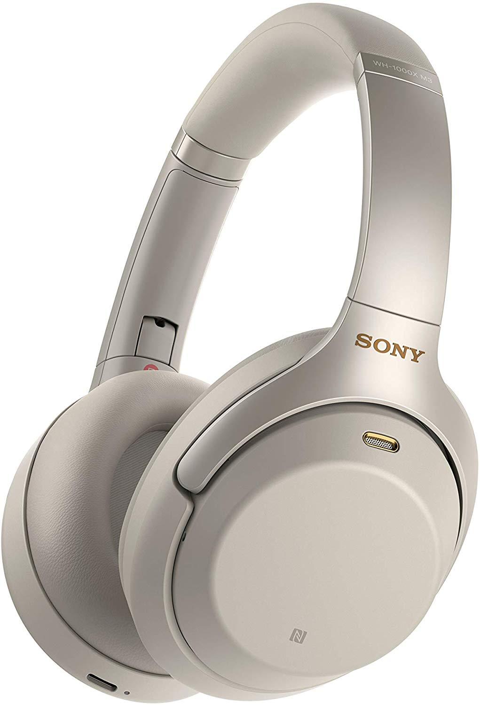 Słuchawki Sony WH-1000XM3 srebrne (czarne - 1.110zł) amazon.it