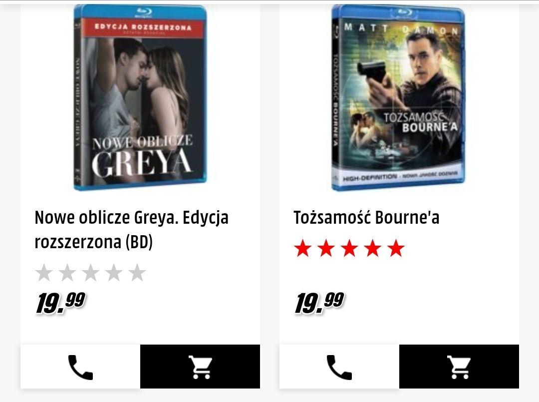 Filmy Blu-Ray po 19,99 MediaMarkt