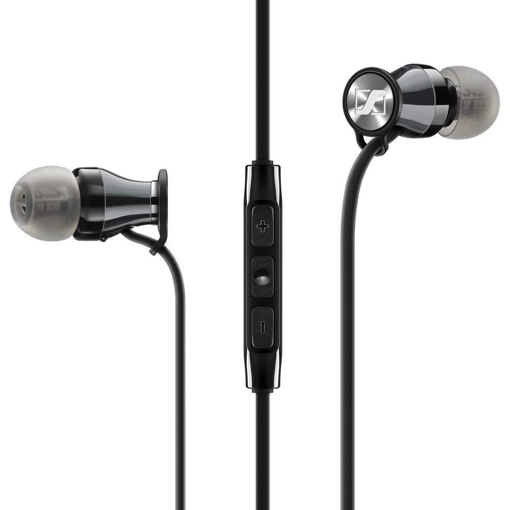 Słuchawki Sennheiser Momentum In-Ear wersja pod Androida czarne amazon.co.uk