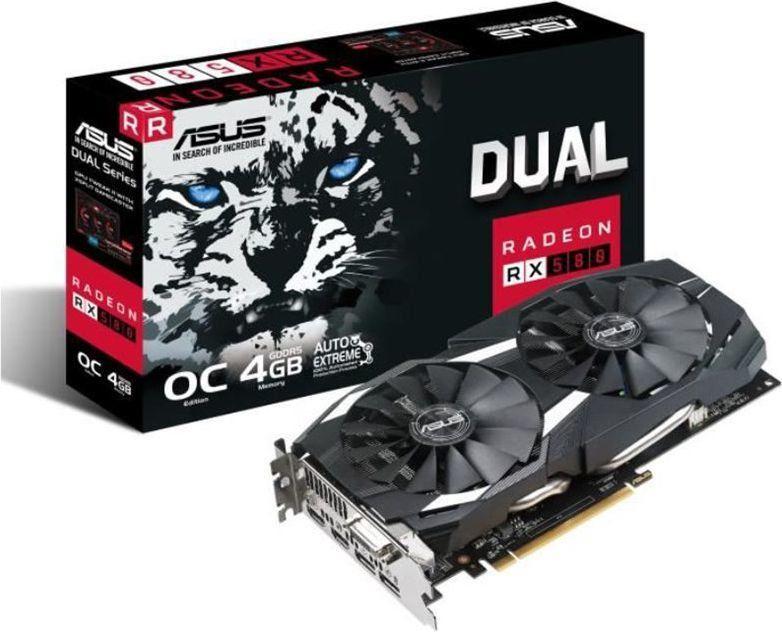 ASUS Radeon RX 580 Dual OC 4GB GDDR5