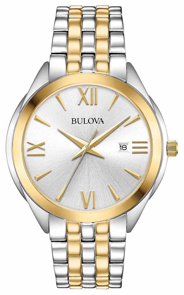 Złoty, a skromny... Zegarek Bulova 98B331