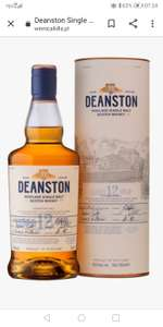 Whisky Deanston 12 yo Single Malt 0.7 46%