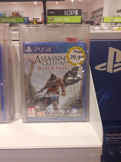Assassin's Creed IV Black Flag na PlayStation 4 za 39,99! Empik CH Targówek Warszawa