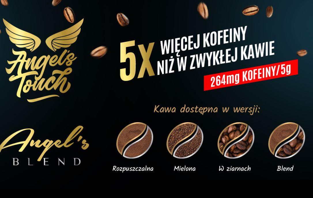 20% rabatu na wszyskie kawy Golden Bow Solutions - Angel's Touch