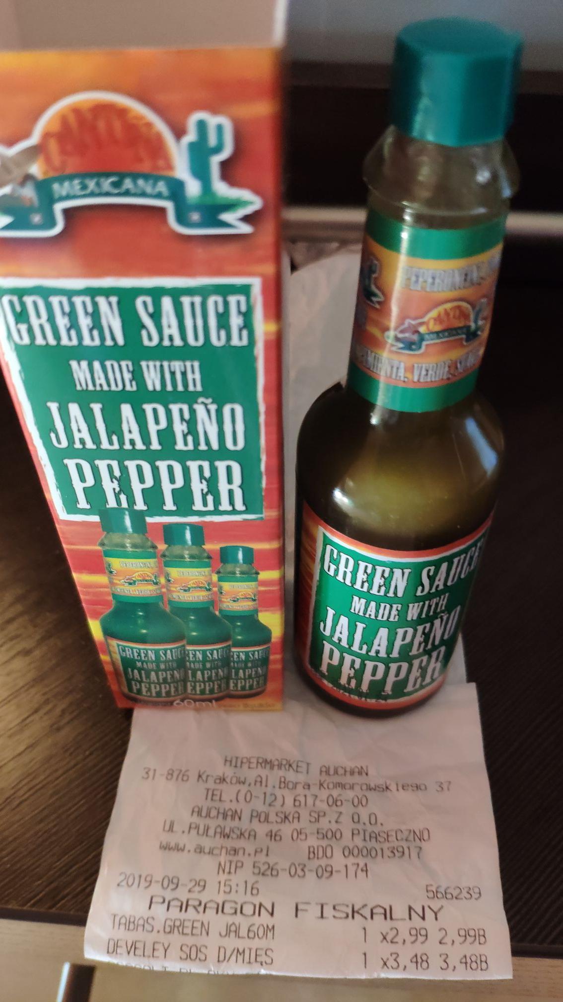 Cantina Mexicana Green Sauce @ Auchan