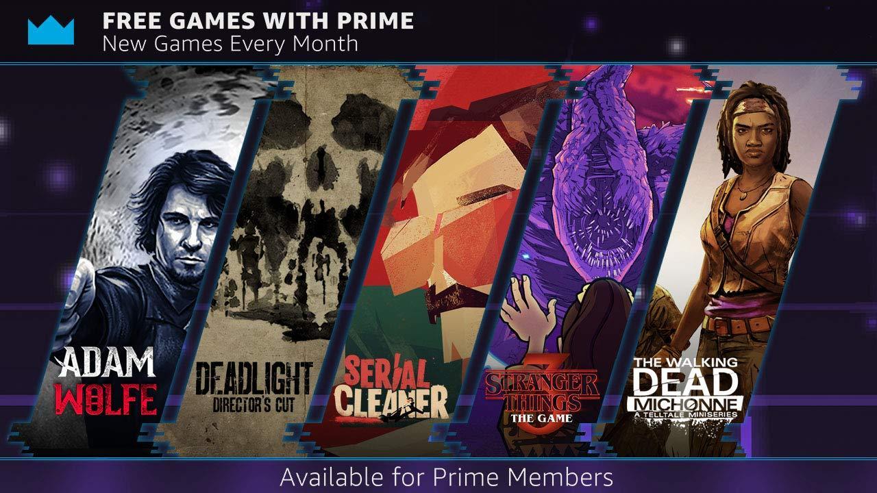 W Twitch Prime od 1 pażdziernika 5 gier za darmo