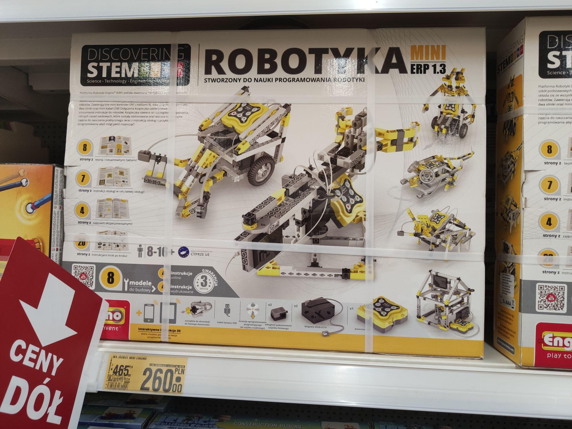 Klocki Engino Robotyka Mini ERP 1.3 programowalne Auchan Bytom