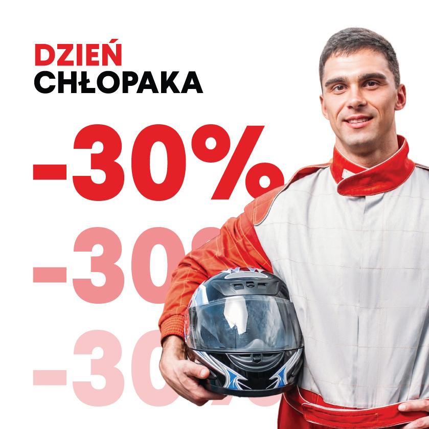Gokarty 30% taniej na Dzień Chłopaka (Wrocław)
