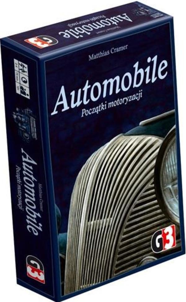 G3 Gra planszowa Automobile Początki motoryzacji
