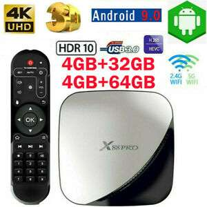 X88 PRO Smart Android 9.0 TV Box 4GB 64GB