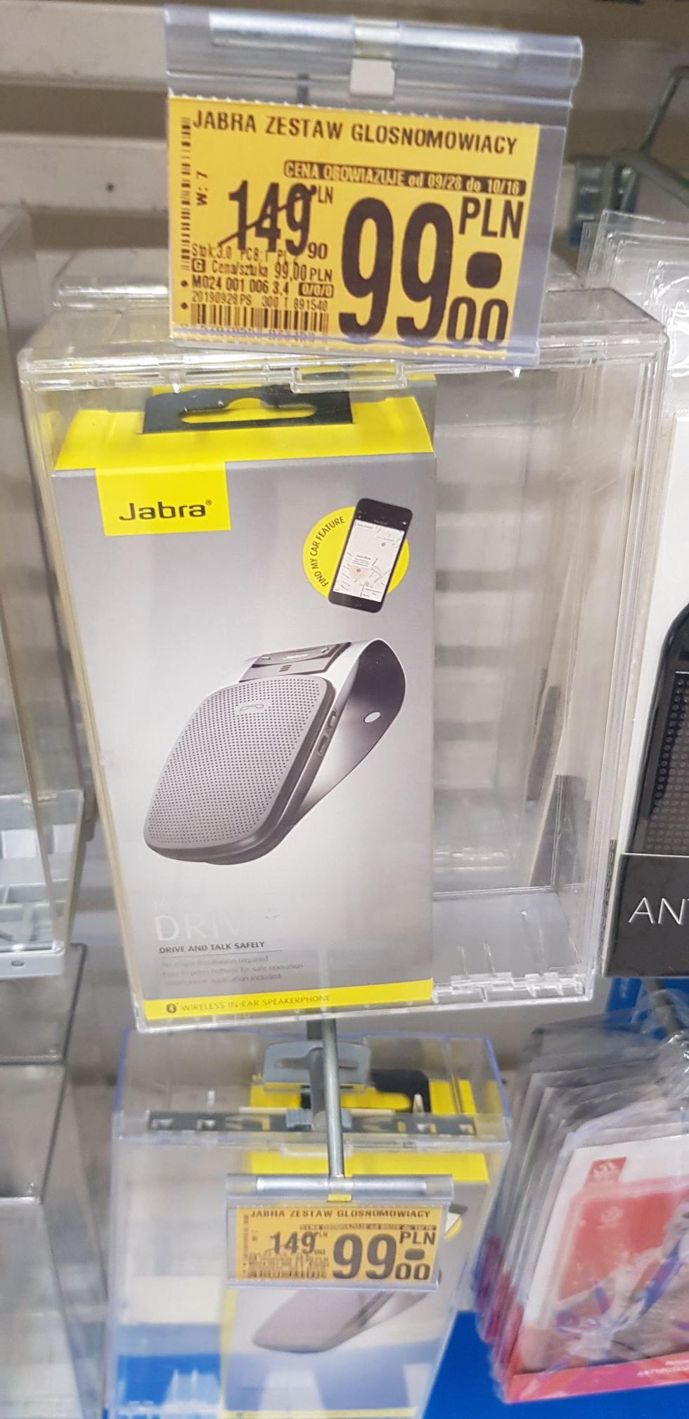 Auchan Zestaw głośnomówiący Bluetooth Jabra, Motorola, Qilive