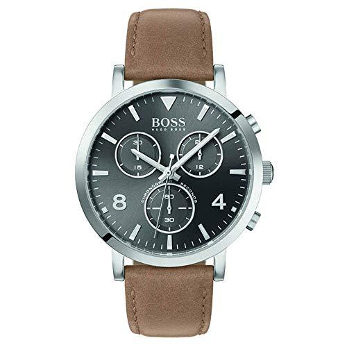 Hugo Boss 1513691 - męski chronograf kwarcowy skórzany pasek