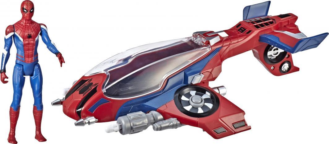 Odrzutowiec SpiderMana E3548, zabawka dla dzieci, kurier 0zł