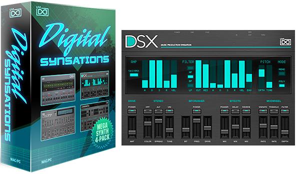 UVI Digital Synsations za darmo