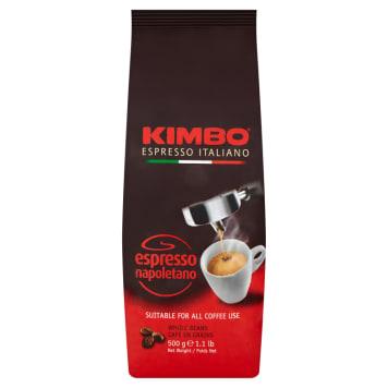 4 KG Kawy ziarnistej KIMBO (32 zł/kg)