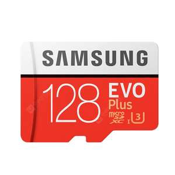 Samsung EVO PLUS UHS-3 Class10 Micro SDXC Memory Card - Red 128G