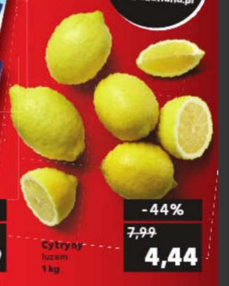 Cytryny luzem,cena za 1 kg@Kaufland 07.10-09.10