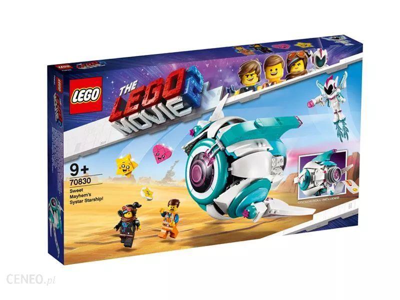LEGO - Gwiezdny statek Słodkiej Zadymy 70830