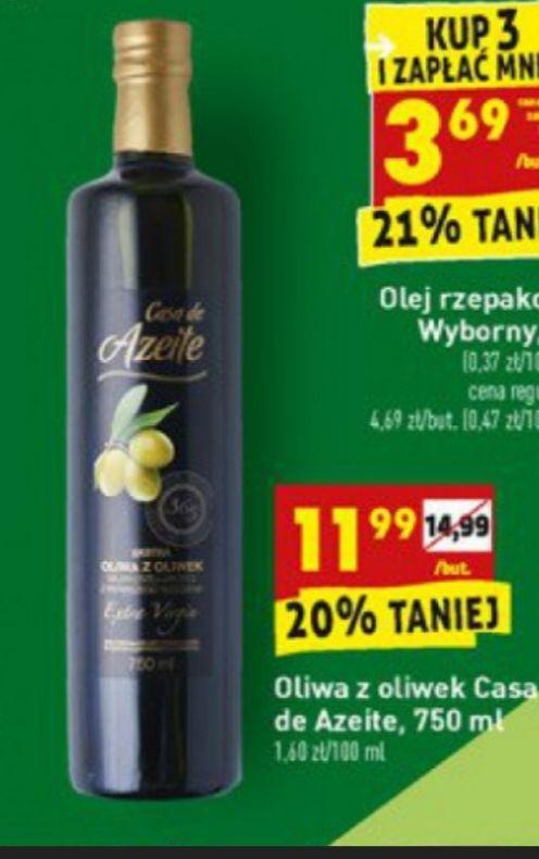 Oliwa z oliwek Extra Virgin 750ml Casa de Azeite BIEDRONKA