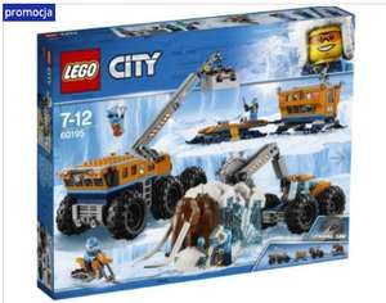 Klocki LEGO City Arktyczna baza mobilna 60195